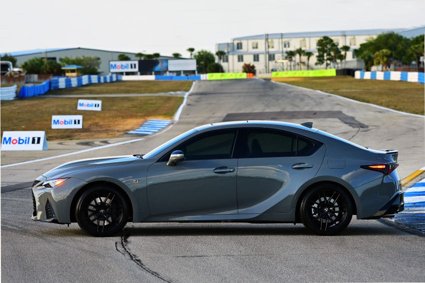 2022 Lexus IS 500 F Sport Performance Launch Edition gets exclusive grey paint, BBS wheels – 500 units only Image #1266626