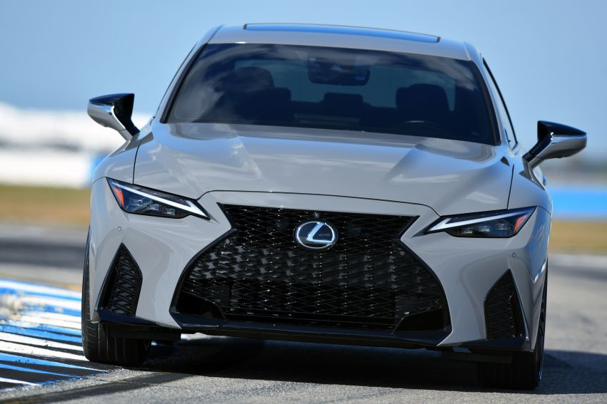 2022 Lexus IS 500 F Sport Performance Launch Edition gets exclusive grey paint, BBS wheels – 500 units only Image #1266627