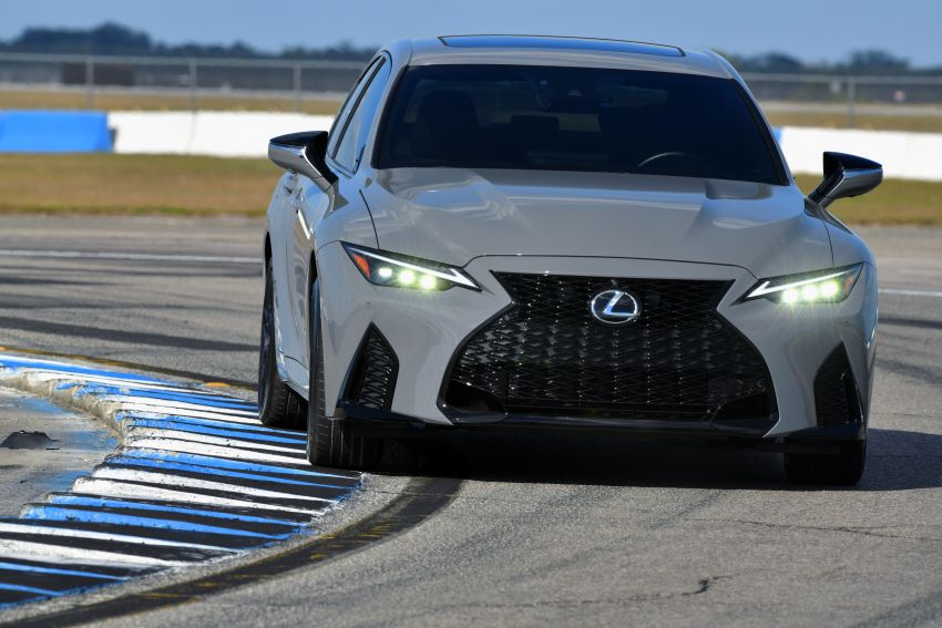 2022 Lexus IS 500 F Sport Performance Launch Edition gets exclusive grey paint, BBS wheels – 500 units only Image #1266628