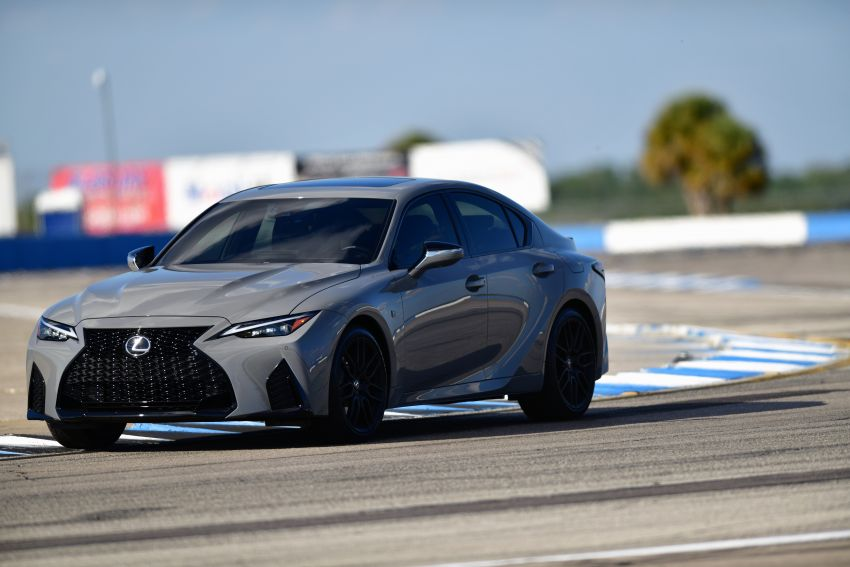 2022 Lexus IS 500 F Sport Performance Launch Edition gets exclusive grey paint, BBS wheels – 500 units only Image #1266631