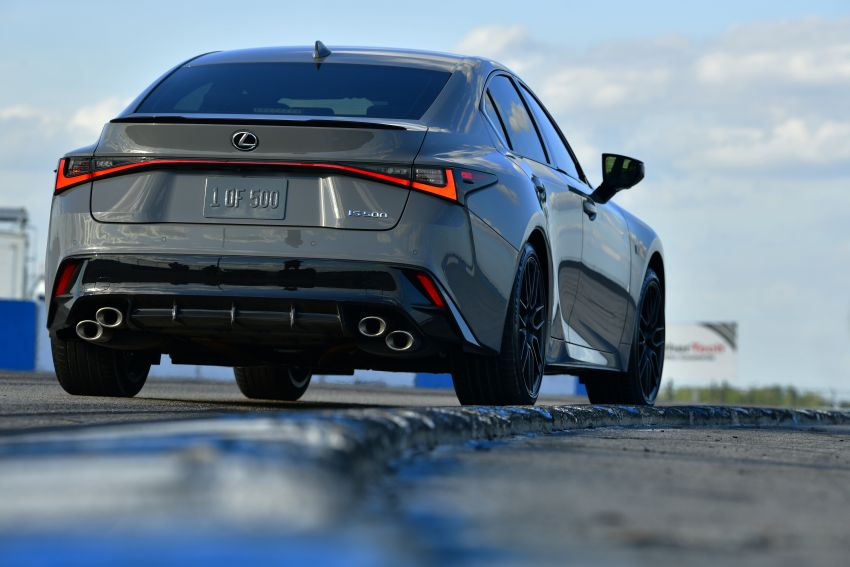2022 Lexus IS 500 F Sport Performance Launch Edition gets exclusive grey paint, BBS wheels – 500 units only Image #1266632