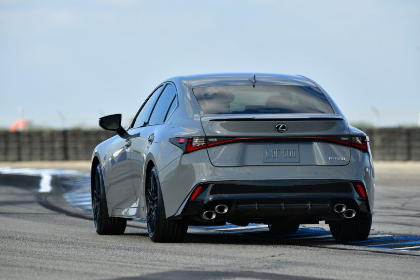 2022 Lexus IS 500 F Sport Performance Launch Edition gets exclusive grey paint, BBS wheels – 500 units only Image #1266634
