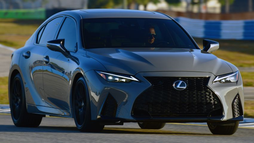 2022 Lexus IS 500 F Sport Performance Launch Edition gets exclusive grey paint, BBS wheels – 500 units only Image #1266637