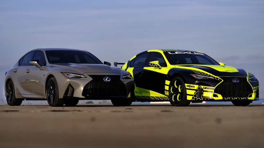 2022 Lexus IS 500 F Sport Performance Launch Edition gets exclusive grey paint, BBS wheels – 500 units only Image #1266639