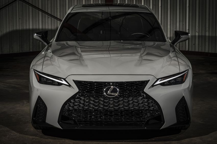 2022 Lexus IS 500 F Sport Performance Launch Edition gets exclusive grey paint, BBS wheels – 500 units only Image #1266597