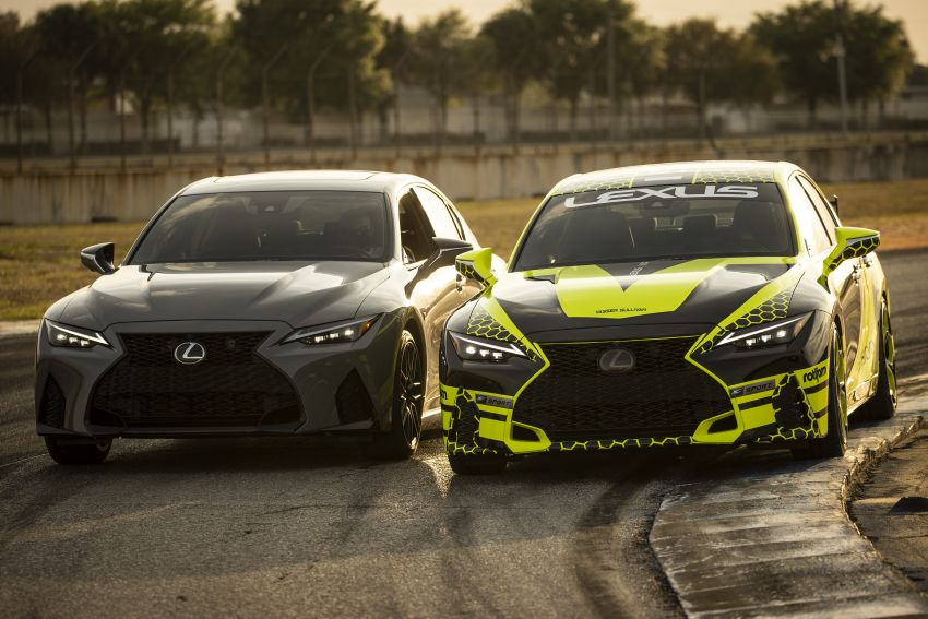 2022 Lexus IS 500 F Sport Performance Launch Edition gets exclusive grey paint, BBS wheels – 500 units only Image #1266640
