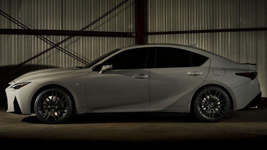 2022 Lexus IS 500 F Sport Performance Launch Edition gets exclusive grey paint, BBS wheels – 500 units only Image #1266598