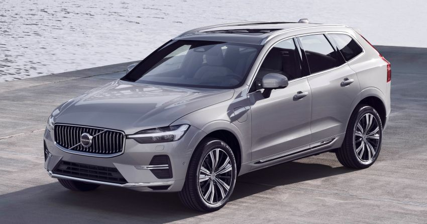 2022 Volvo XC60 gets updated with new styling, kit Image #1260385