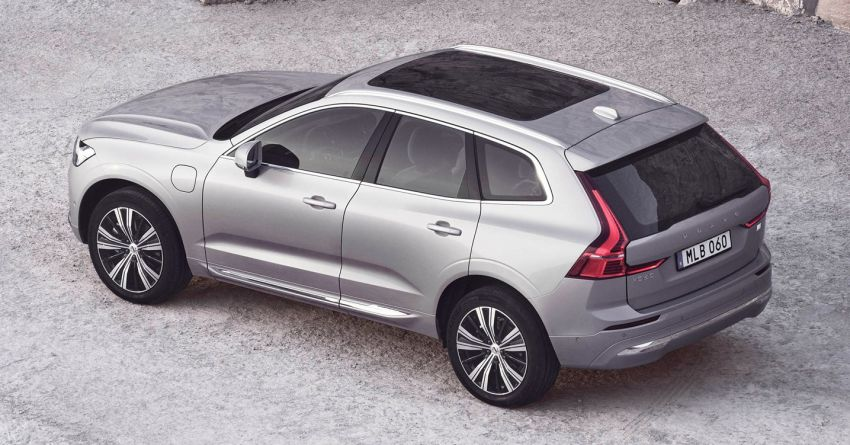 2022 Volvo XC60 gets updated with new styling, kit Image #1260386