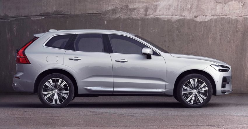 2022 Volvo XC60 gets updated with new styling, kit Image #1260389