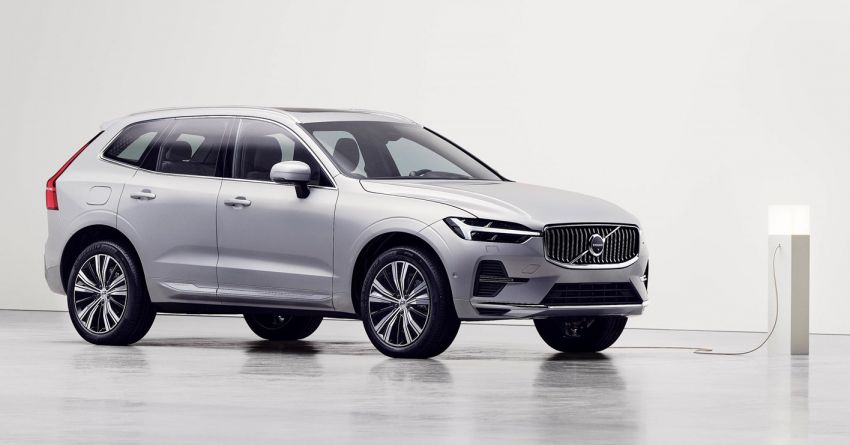 2022 Volvo XC60 gets updated with new styling, kit Image #1260391