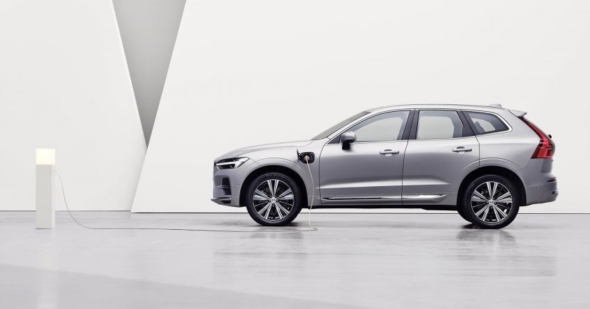 2022 Volvo XC60 gets updated with new styling, kit Image #1260392
