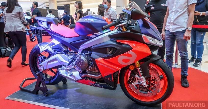 2021 Aprilia RS660 midweight in Malaysia, RM59,900 Image #1272168