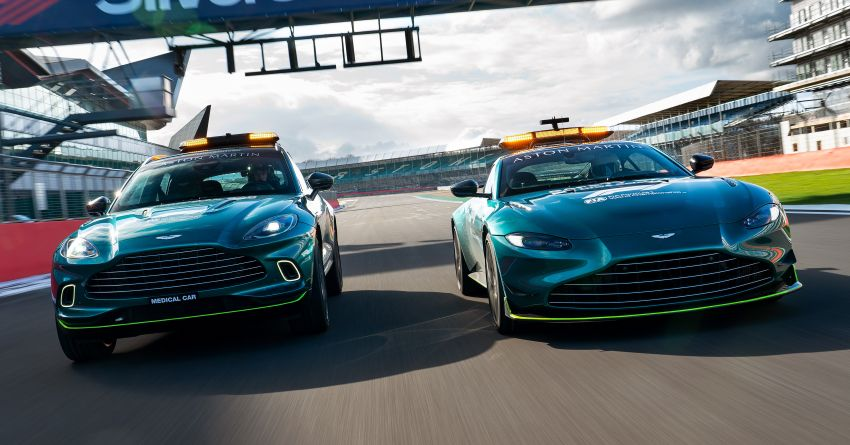 Aston Martin Vantage and DBX revealed as official Formula 1 safety and medical cars for 2021 season Image #1259298