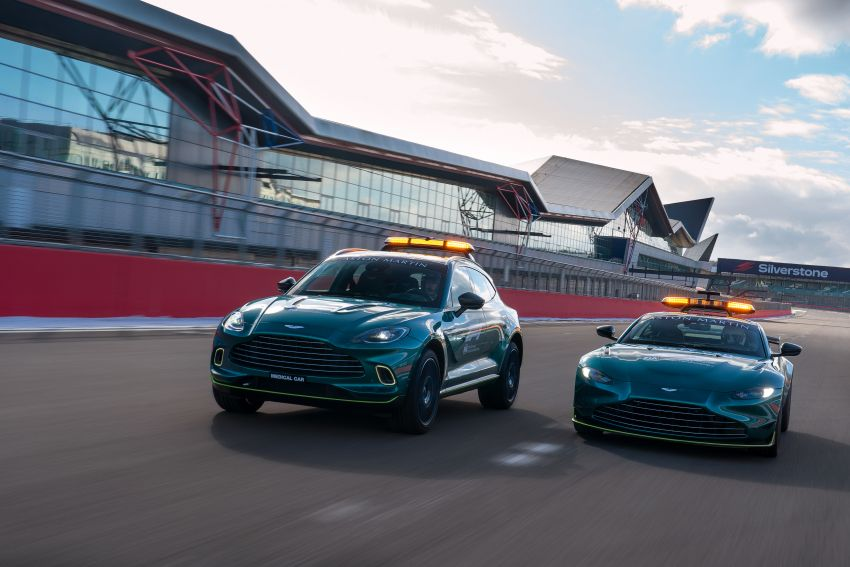 Aston Martin Vantage and DBX revealed as official Formula 1 safety and medical cars for 2021 season Image #1259300