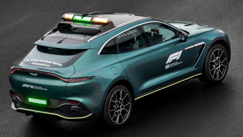Aston Martin Vantage and DBX revealed as official Formula 1 safety and medical cars for 2021 season Image #1259329