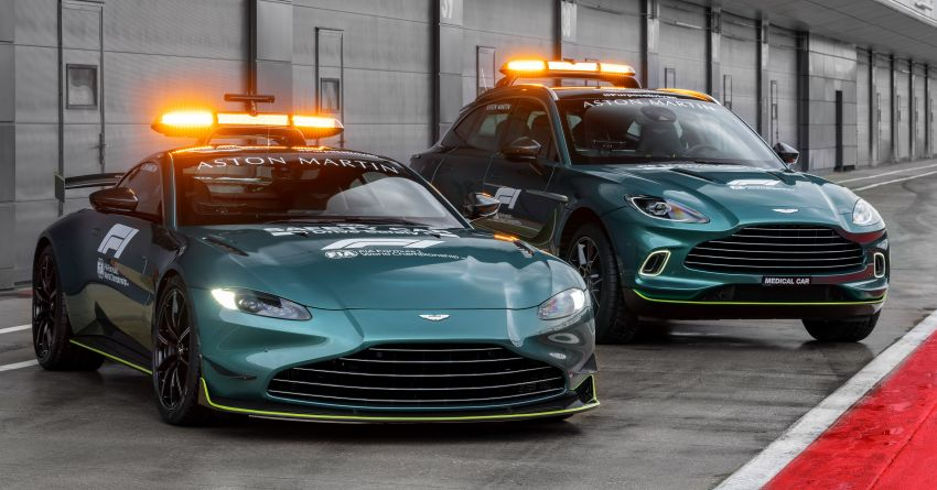 Aston Martin Vantage and DBX revealed as official Formula 1 safety and medical cars for 2021 season Image #1259301