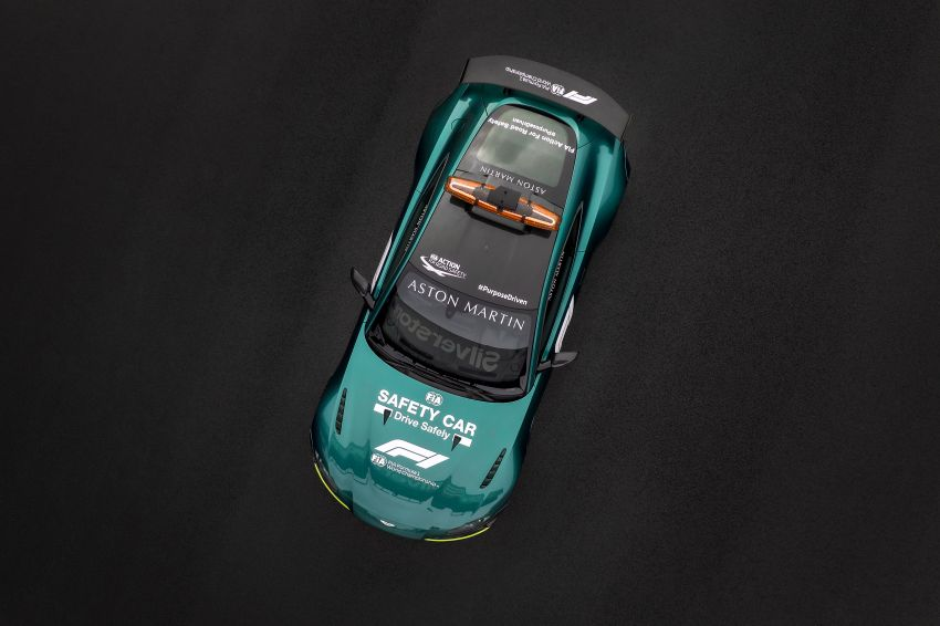 Aston Martin Vantage and DBX revealed as official Formula 1 safety and medical cars for 2021 season Image #1259330