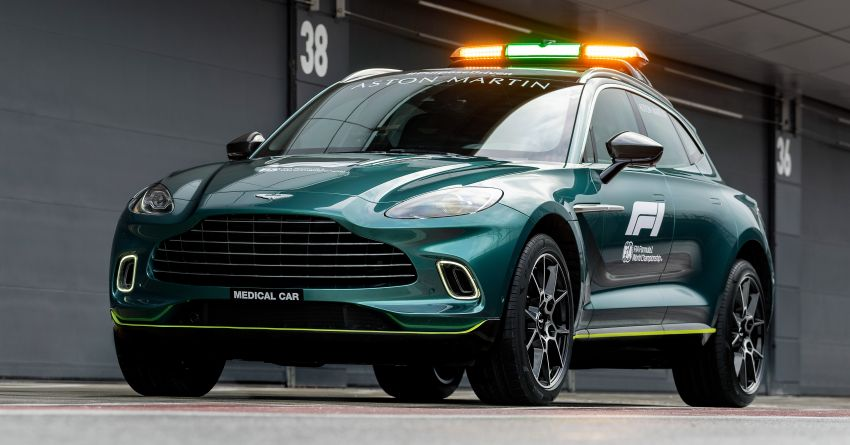 Aston Martin Vantage and DBX revealed as official Formula 1 safety and medical cars for 2021 season Image #1259337