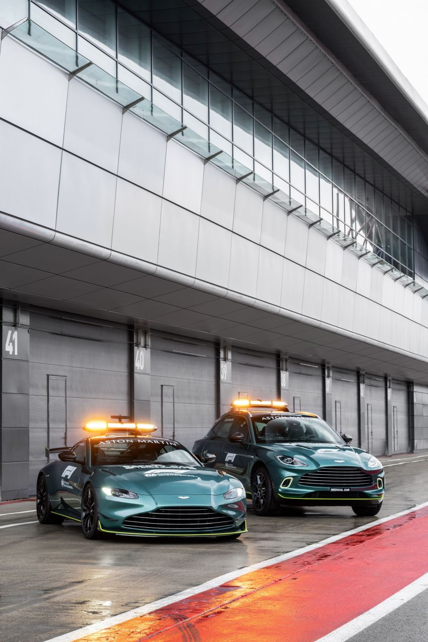Aston Martin Vantage and DBX revealed as official Formula 1 safety and medical cars for 2021 season Image #1259303