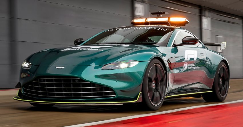 Aston Martin Vantage and DBX revealed as official Formula 1 safety and medical cars for 2021 season Image #1259304