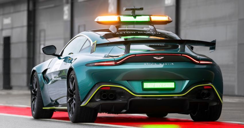 Aston Martin Vantage and DBX revealed as official Formula 1 safety and medical cars for 2021 season Image #1259308