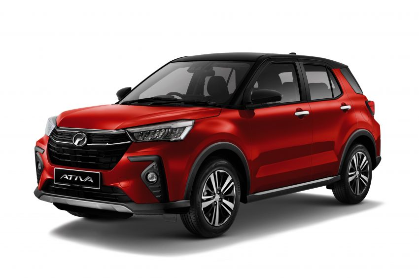 2021 Perodua Ativa SUV launched in Malaysia – X, H, AV specs; 1.0L Turbo CVT; from RM61,500 to RM72k Image #1257355
