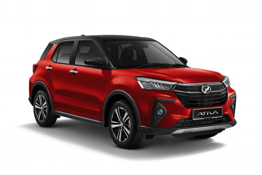 2021 Perodua Ativa SUV launched in Malaysia – X, H, AV specs; 1.0L Turbo CVT; from RM61,500 to RM72k Image #1257360
