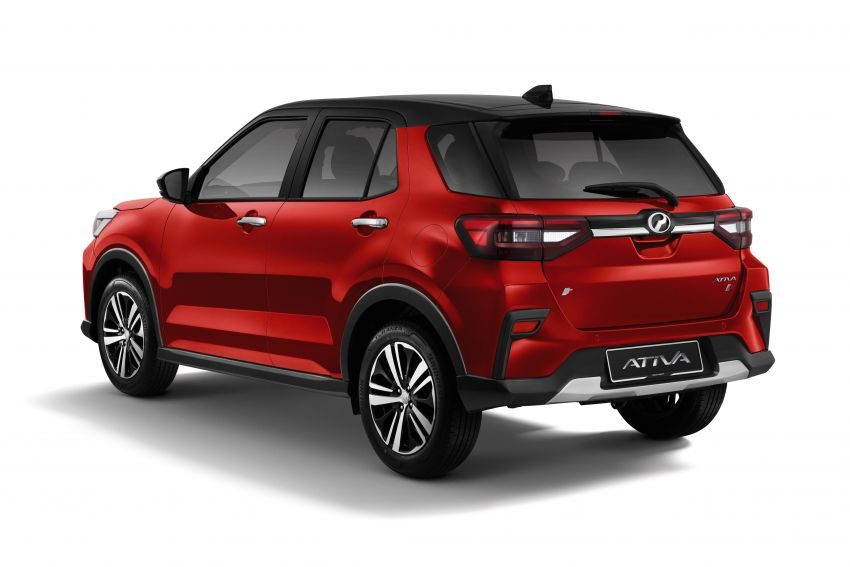 2021 Perodua Ativa SUV launched in Malaysia – X, H, AV specs; 1.0L Turbo CVT; from RM61,500 to RM72k Image #1257368