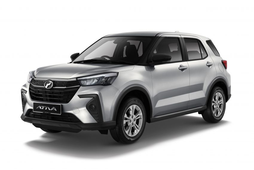 2021 Perodua Ativa SUV launched in Malaysia – X, H, AV specs; 1.0L Turbo CVT; from RM61,500 to RM72k Image #1257620