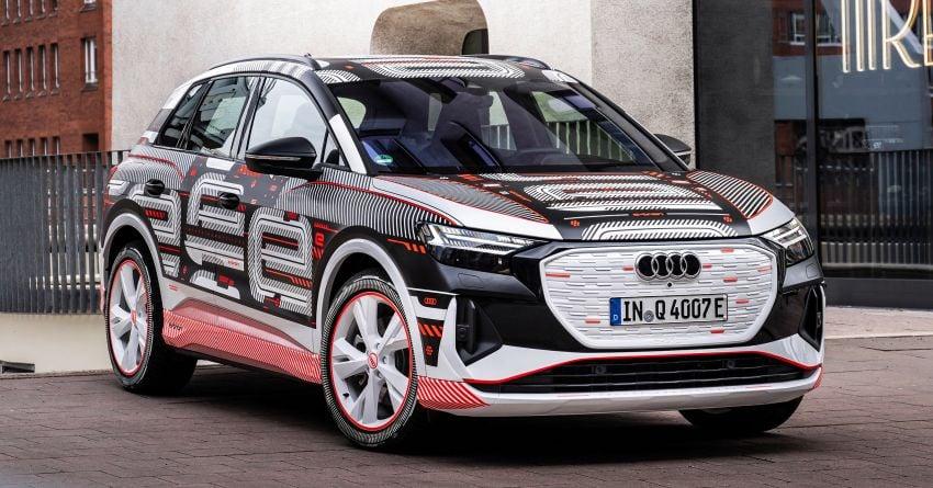 Audi Q4 e-tron – first look at its hi-tech, spacious cabin Image #1260769