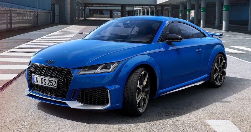 Audi Sport Nogaro Edition models unveiled for the UK – TT RS, RS4 Avant, RS5, RS6 Avant in Nogaro Blue Image #1265157
