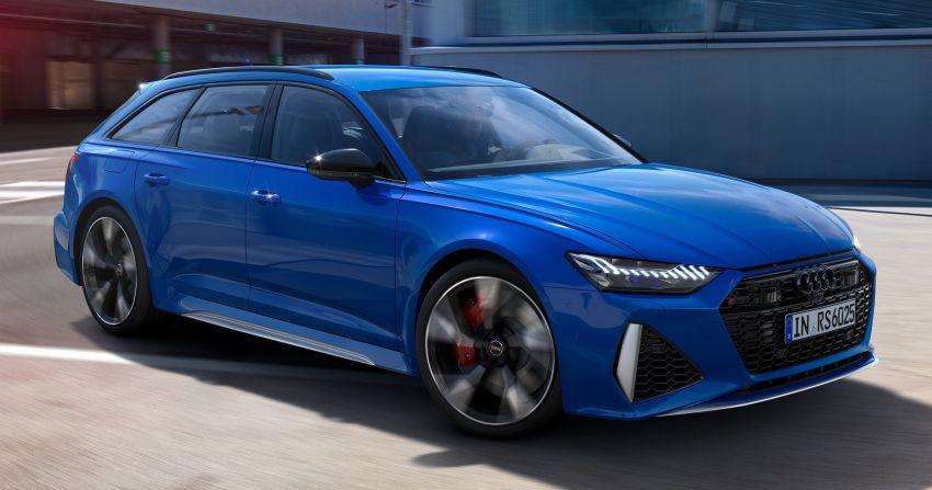 Audi Sport Nogaro Edition models unveiled for the UK – TT RS, RS4 Avant, RS5, RS6 Avant in Nogaro Blue Image #1265160