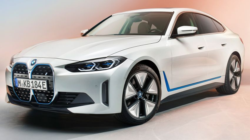 BMW i4 electric 4-door coupé revealed in first photos Image #1264691
