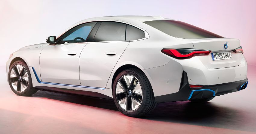 BMW i4 electric 4-door coupé revealed in first photos Image #1264694