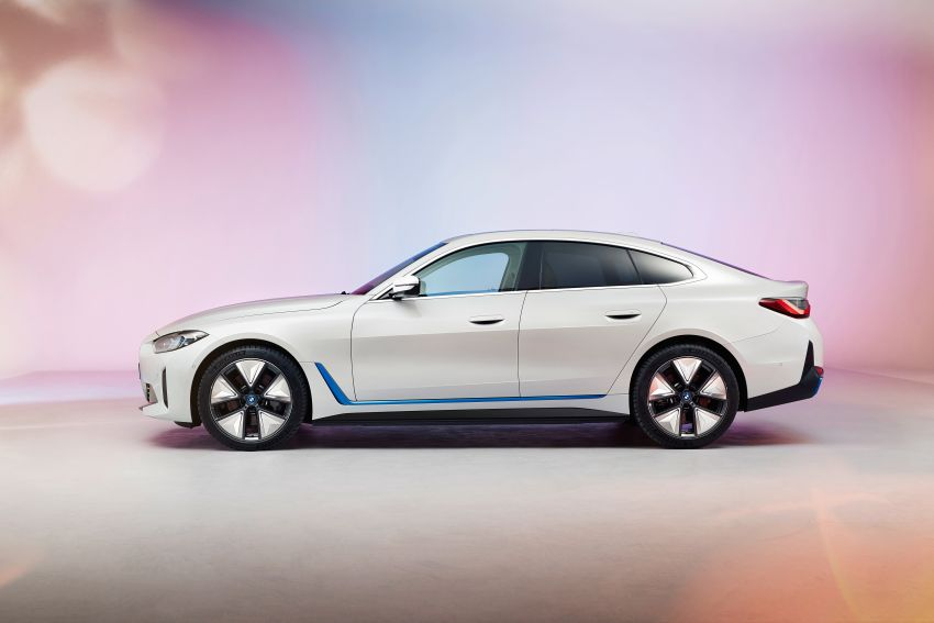 BMW i4 electric 4-door coupé revealed in first photos Image #1264697