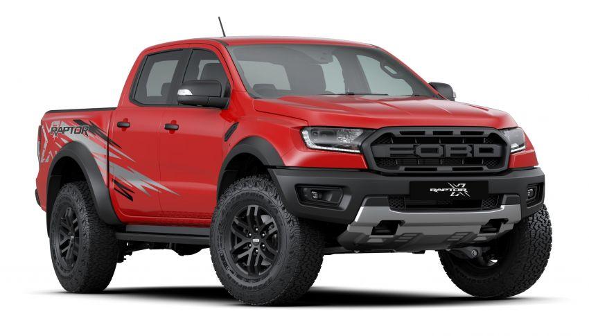 Ford Ranger Raptor X Special Edition – warna luaran unik True Red, ciri kelengkapan tambahan; RM216,888 Image #1256957
