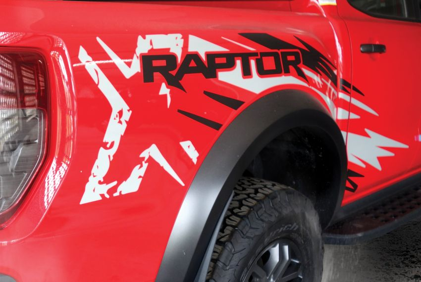 Ford Ranger Raptor X Special Edition – unique True Red exterior and additional equipment, RM216,888 Image #1256755