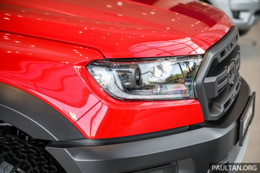 GALLERY: Ford Ranger Raptor X Special Edition in red Image #1258462