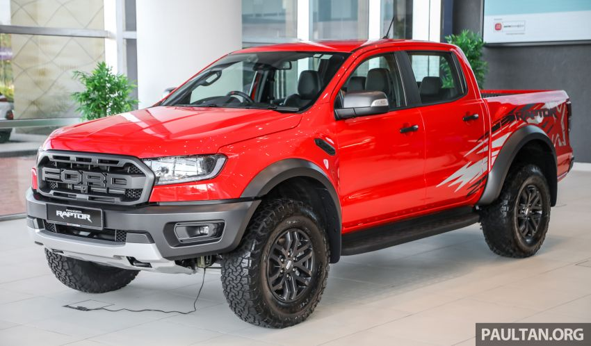 GALLERY: Ford Ranger Raptor X Special Edition in red Image #1258451