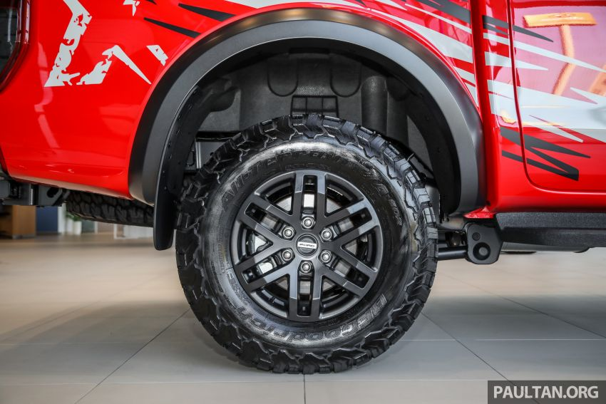 GALLERY: Ford Ranger Raptor X Special Edition in red Image #1258483