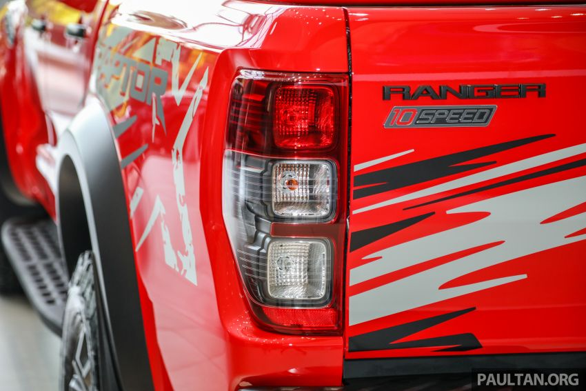 GALLERY: Ford Ranger Raptor X Special Edition in red Image #1258485