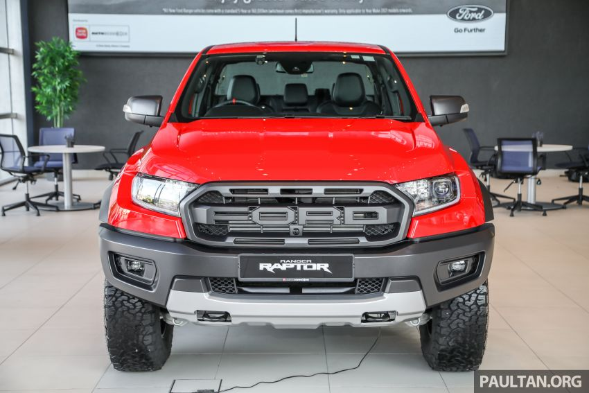 GALLERY: Ford Ranger Raptor X Special Edition in red Image #1258455