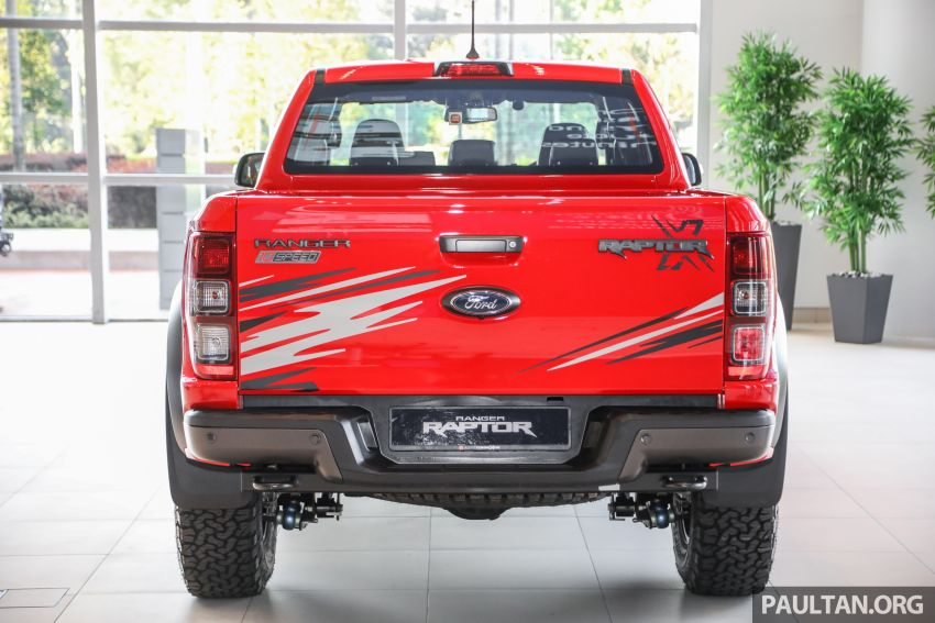 GALLERY: Ford Ranger Raptor X Special Edition in red Image #1258457
