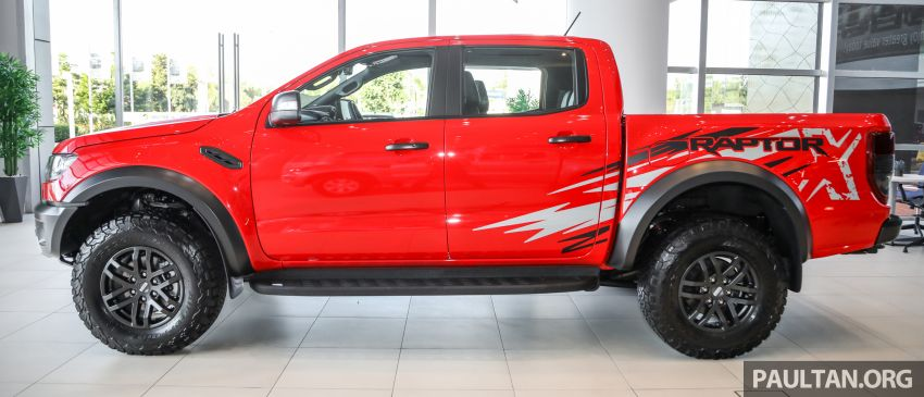 GALLERY: Ford Ranger Raptor X Special Edition in red Image #1258458