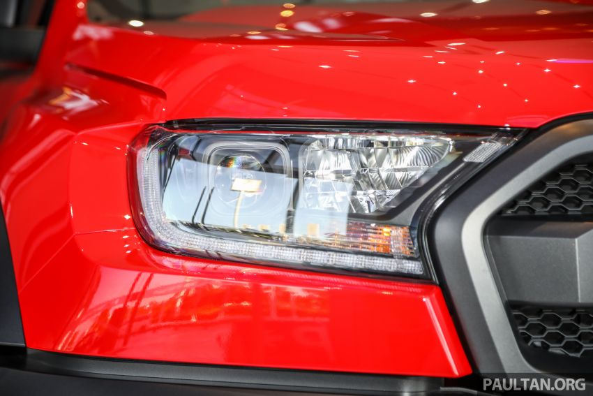 GALLERY: Ford Ranger Raptor X Special Edition in red Image #1258461