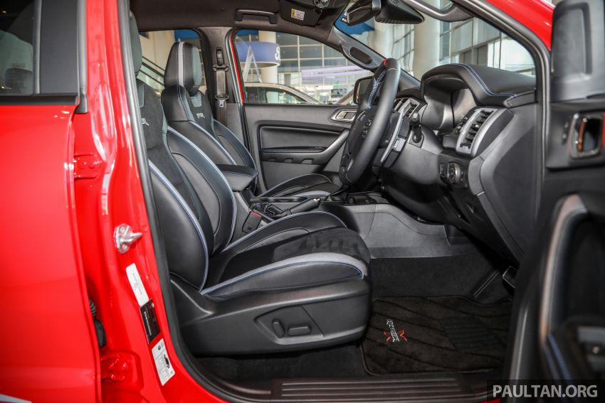 GALLERY: Ford Ranger Raptor X Special Edition in red Image #1258551