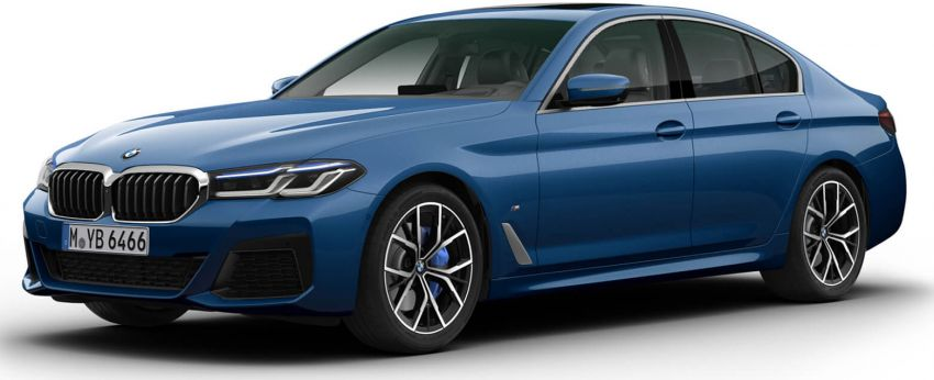 2021 BMW 5 Series facelift coming to Malaysia soon – G30 LCI in 530i, 530e M Sport variants, ROIs open now Image #1266552
