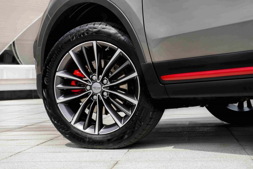 Geely Boyue Asian Games Edition launched in China – Lotus-tuned chassis, Infinite Weave grille; from RM58k Image #1260130