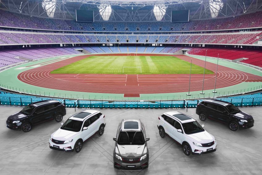 Geely Boyue Asian Games Edition launched in China – Lotus-tuned chassis, Infinite Weave grille; from RM58k Image #1260133